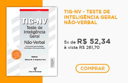 TIG-NV - Teste de Inteligência Geral Não-Verbal