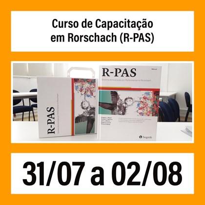 05. Curso de Capacitação em Rorschach (R-PAS) - 31/07 a 02/08