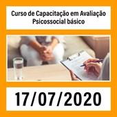 09. Curso de Capacitação em Avaliação Psicossocial básico - 17/07