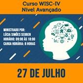 10. Curso WISC-IV - Nível Avançado (Uso no contexto neuropsicológico)