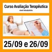 15. Curso Avaliação Terapêutica (nível introdutório) - 25/09 e 26/09