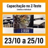 18. Capacitação no Z-Teste - Coletivo e Individual - 23/10 a 25/10