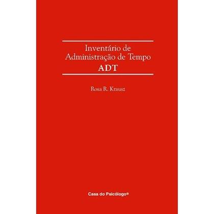 ADT - Inventário de administração de tempo - Caderno de registro de respostas