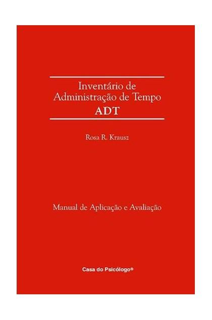ADT - Inventário de administração de tempo - Manual