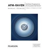 APM-RAVEN: Matrizes progressivas avançadas de Raven - Bloco de respostas