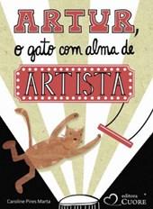Artur, o gato com alma de artista