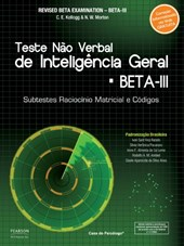 BETA III - Teste não verbal de inteligência geral - Kit completo