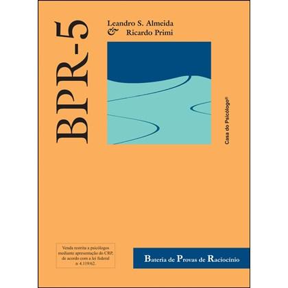 BPR-5 - Bateria de provas de raciocínio - Caderno (RA) forma A