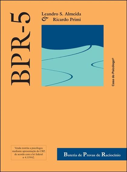 BPR-5 - Bateria de provas de raciocínio - Caderno (RM) forma B