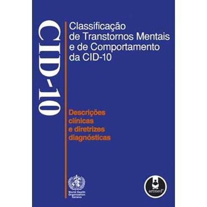 Classificação de Transtornos Mentais e de Comportamento da CID-10