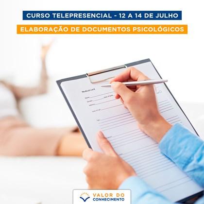 Curso Telepresencial - Elaboração de Documentos Psicológicos