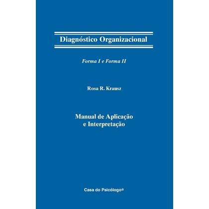 DO - Diagnóstico organizacional - Tabela de registro resposta forma I