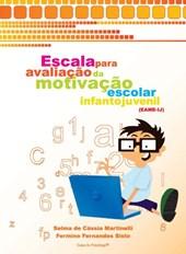 EAME-IJ - Escala para avaliação da motivação escolar infantojuvenil - Kit completo