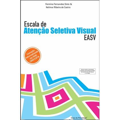 EASV - Escala de Atenção Seletiva Visual - Bloco de Folhas de Resposta