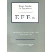 EFEx - Escala fatorial de extroversão - Bloco de respostas