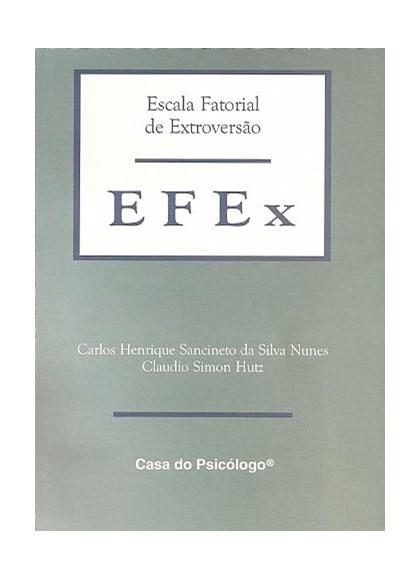 EFEx - Escala fatorial de extroversão - Caderno de aplicação