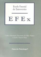 EFEx - Escala fatorial de extroversão - Crivos