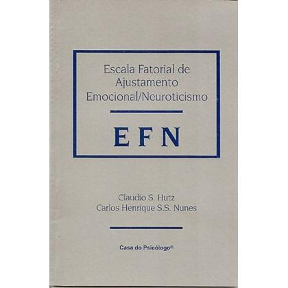 EFEx - Escala fatorial de extroversão - Kit completo