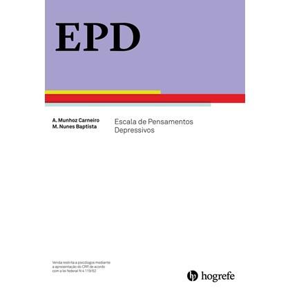EPD - Escala de Pensamentos Depressivos (Conjunto Completo)