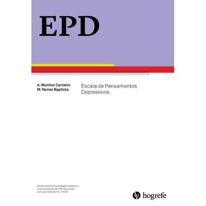 EPD - Folhas de Aplicação - Escala de Pensamentos Depressivos
