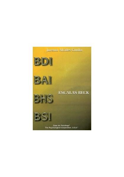 Escalas Beck - Folha de Resposta do BAI