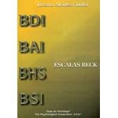 Escalas Beck - Folha de Resposta do BSI