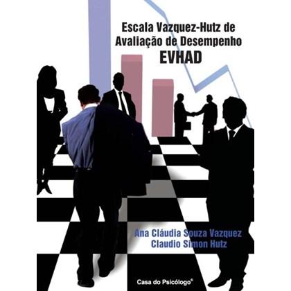 EVHAD - Escala Vazquez-Hutz de Avaliação de Desempenho - Bloco de Folha de Apuração