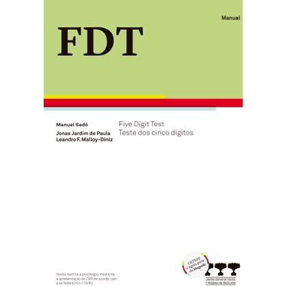 FDT- Five Digit Test - Kit completo