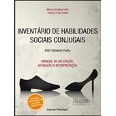IHSC - Inventário de Habilidades Sociais Conjugais - Bloco de Ficha de Apuração (masculino)