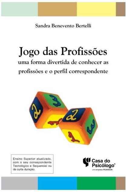 Jogo das profissões: uma forma divertida de conhecer as profissões e o perfil correspondente - Kit