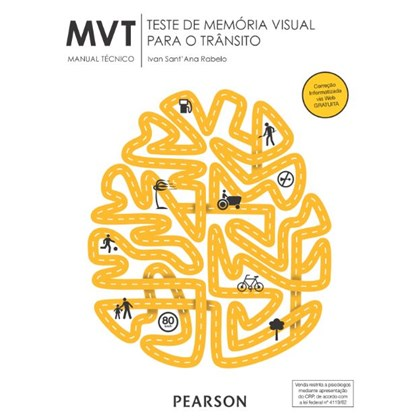 MVT - Teste de Memória Visual para o Trânsito - Kit Completo
