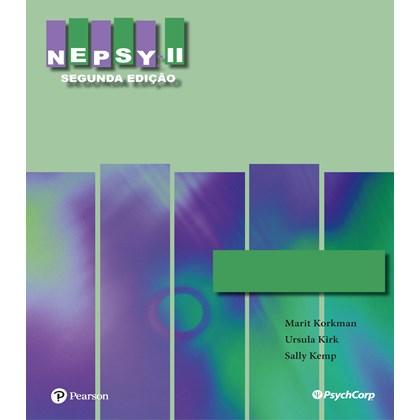 NEPSY II - Caderno de Respostas 3-4 ANOS
