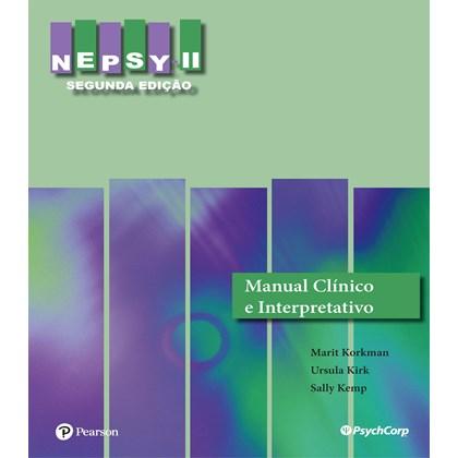 NEPSY II - Manual Clinico e Interpretativo