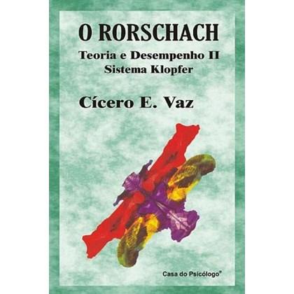 O Rorschach: teoria e desempenho II - Ficha de calculos