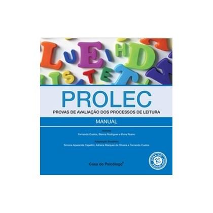 PROLEC 2º ED - Prova de Avaliação dos Processos de Leitura - Protocolo de Registro