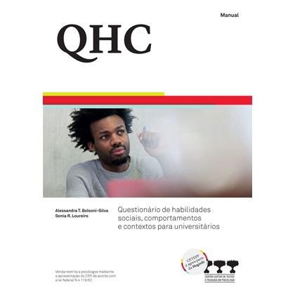 QHC - Questionário de Habilidades Sociais, Comportamentos e Contextos para Universitários (Kit)