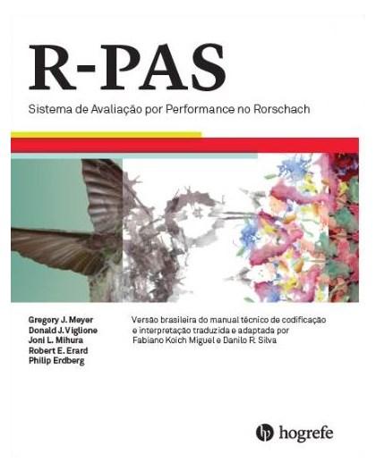 R-PAS – Sistema de Avaliação por Performance de Rorschach (Coleção COM Pranchas)