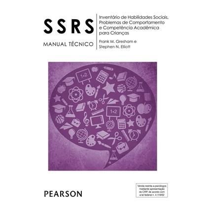 SSRS - Kit de Reposição - Inventário de Habilidades Sociais, Problemas de Comportamento e