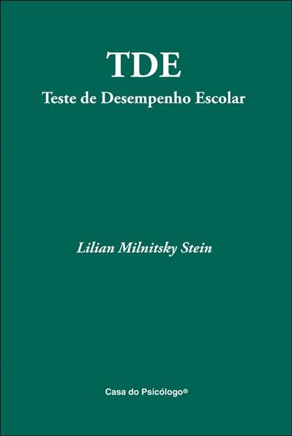 TDE - Teste de Desempenho Escolar - Caderno de Aplicação