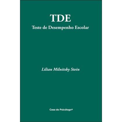 TDE - Teste de Desempenho Escolar - Ficha - Subteste Escrita