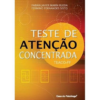 TEACO - FF - Teste de atenção Concentrada - Kit Completo