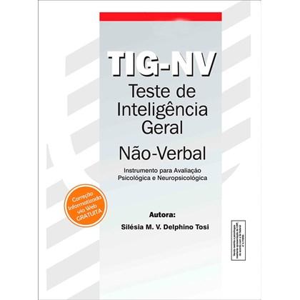 TIG-NV - Teste de Inteligência Geral Não-Verbal - Bloco de Respostas
