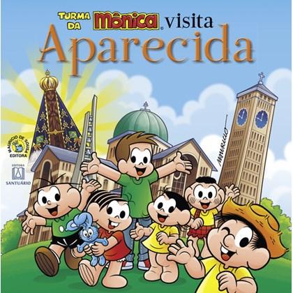 TURMA DA MONICA VISITA APARECIDA