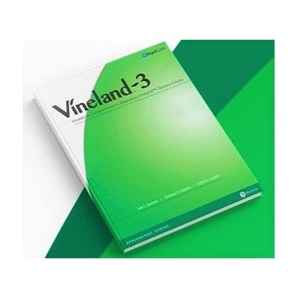 Víneland-3 (Escalas de Comportamento Adaptativo Víneland – Kit Completo) COMPRAR
