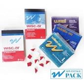 W Advantage Pack (WISC-IV + WAIS-III + WASI + LIVROS + Outros)