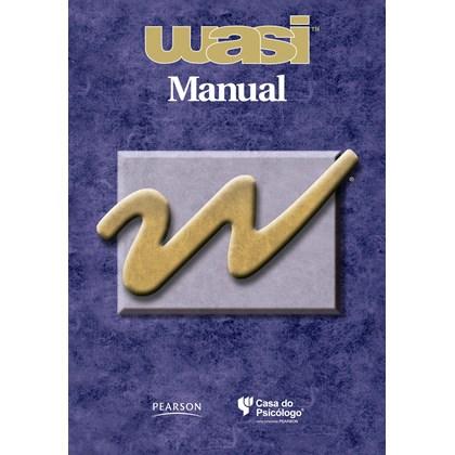 WASI - Manual - Escala Wechsler Abreviada de Inteligência