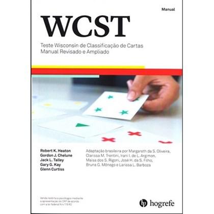 WCST (kit COM cartas) - Teste Wisconsin de Classificação de Cartas