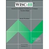 WISC III - Escala de inteligência Wechsler para crianças - Anteparo