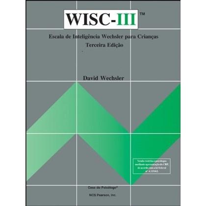 WISC III - Escala de inteligência Wechsler para crianças - Crivo procurar símbolos