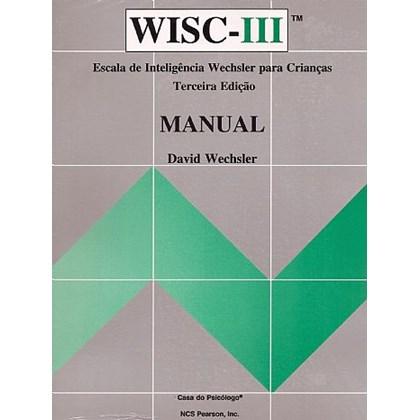 WISC III - Escala de inteligência Wechsler para crianças - Kit